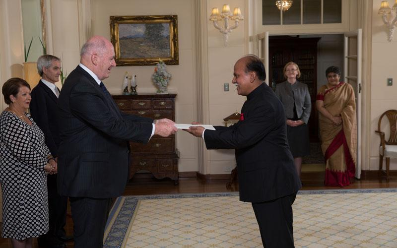 Presentation of Credential to Hon'ble Governor General